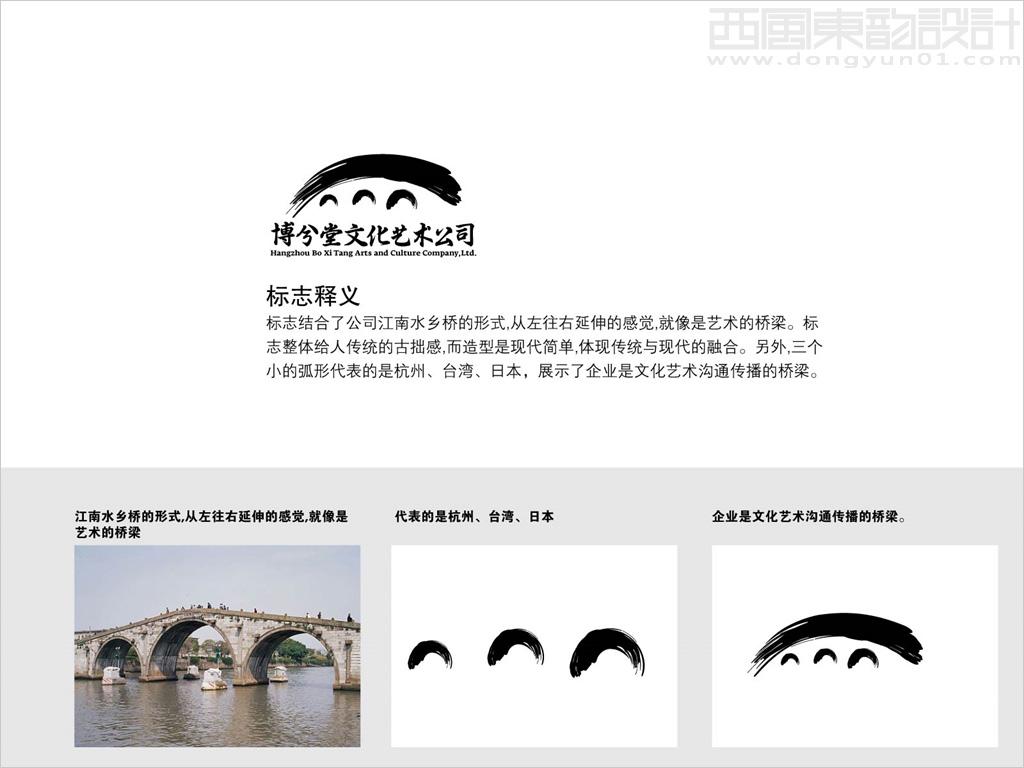 杭州博兮堂文化艺术有限公司标志设计理念创意说明