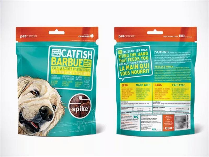 16款超萌的国外宠物食品包装设计欣赏